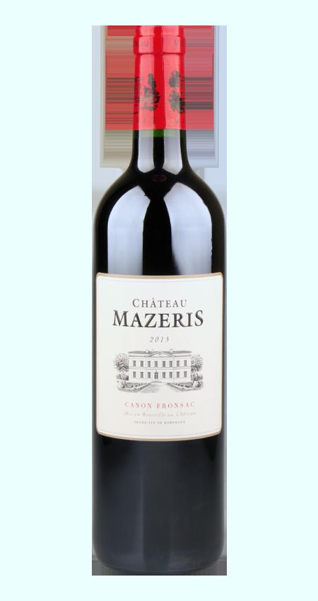 Canon-Fronsac 2015 Château Mazeris Bordeaux red wine